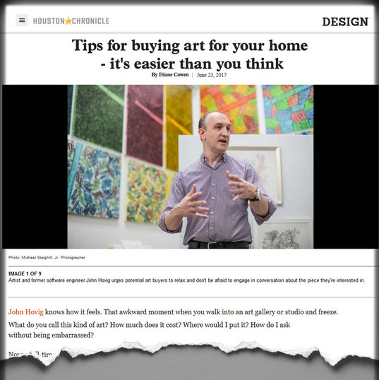 Tips for buying art for your home - it's easier than you think.