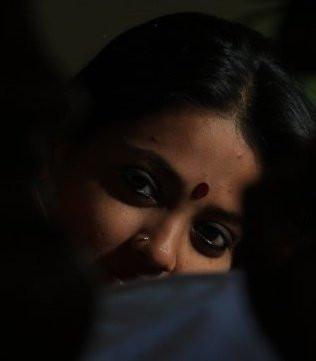 Binary Feminine Face in Modern Day India