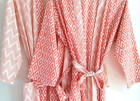 An Indian Summer Coral Kimono Robes_edit