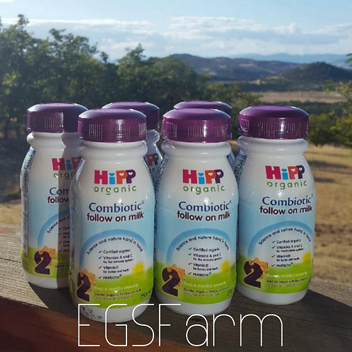 6-pack HiPP Organic Combiotic Follow On Milk Stage 2