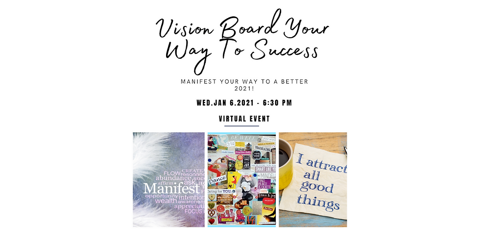 Virtual Vision Boarding - Manifest Your Way to 2021!