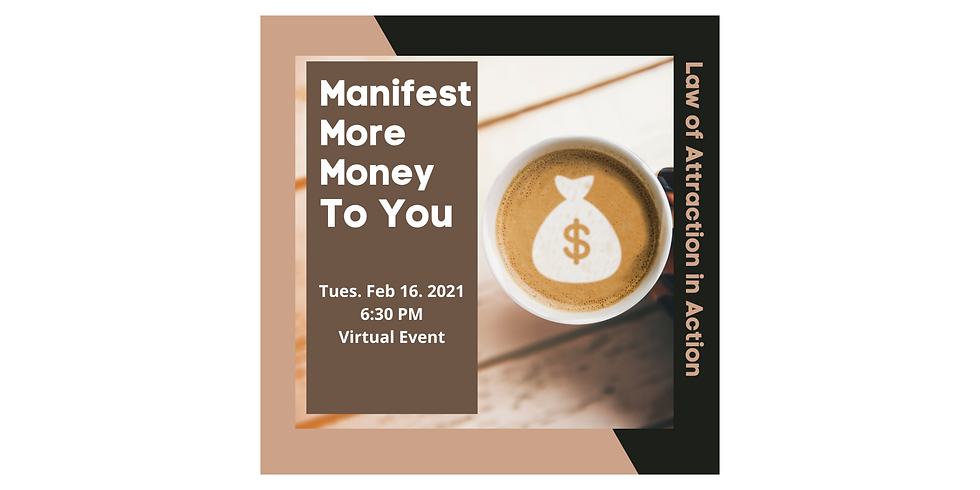 Manifest More Money To You