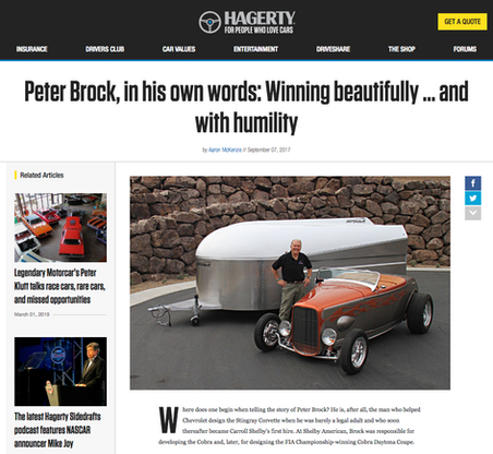 Peter Brock, in his own words: Winning beautifully … and with humility