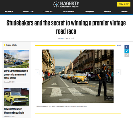 Studebakers and the secret to winning a premier vintage road race