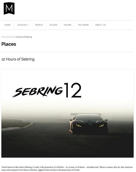 12 Hours of Sebring
