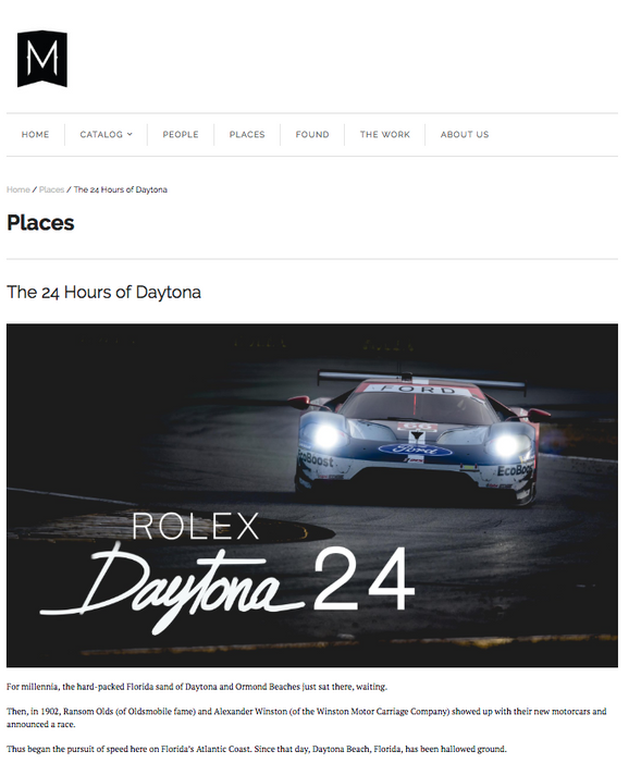 The 24 Hours of Daytona