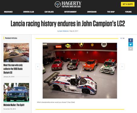 Lancia racing history endures in John Campion's LC2