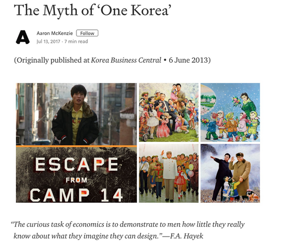 The Myth of 'One Korea'