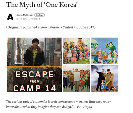The Myth of 'One Korea'