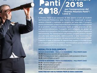 HackUNIVPM 2018 - Premio Maurizio Panti - Eidos Consulting sponsor dell'iniziativa