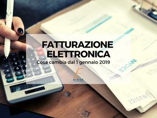 Fatturazione elettronica: cosa cambia dal 1 gennaio 2019