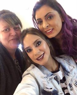 Resultado da aula com a Sueli , que já é maquiadora e queria uma atualização ❤️_As fotos ficaram inc