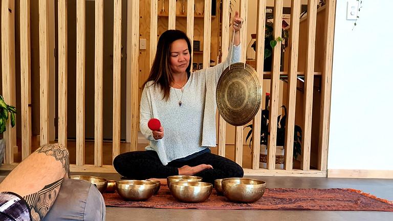 Full Moon Sound Healing Meditation & Deep Relaxation