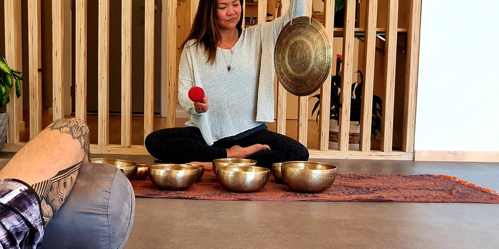 Yin Yoga and Tibetan Singing Bowls
