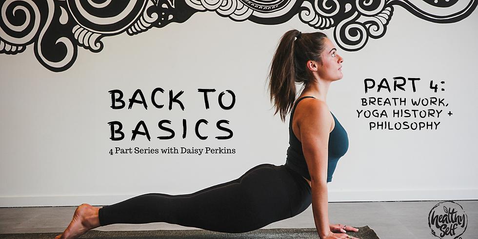 Back to Basics 4 Part Series | Part 4