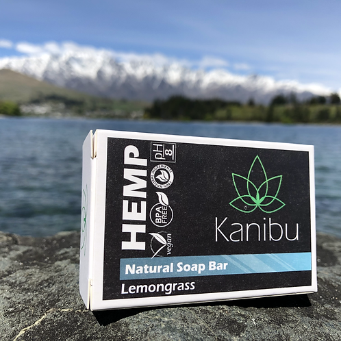 Hemp Natural Soap Bar - Lemongrass