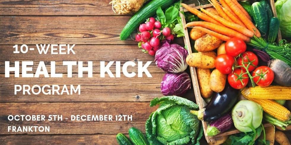 10-WEEK HEALTH KICK PROGRAM