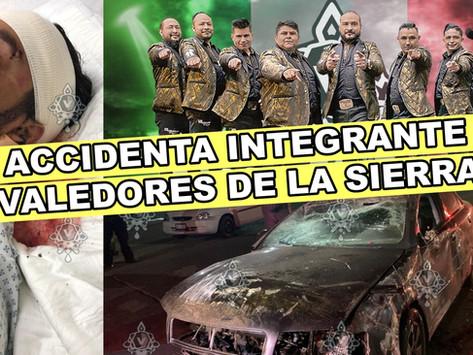 INTEGRANTE DE VALEDORES DE LA SIERRA SUFRE ACCIDENTE