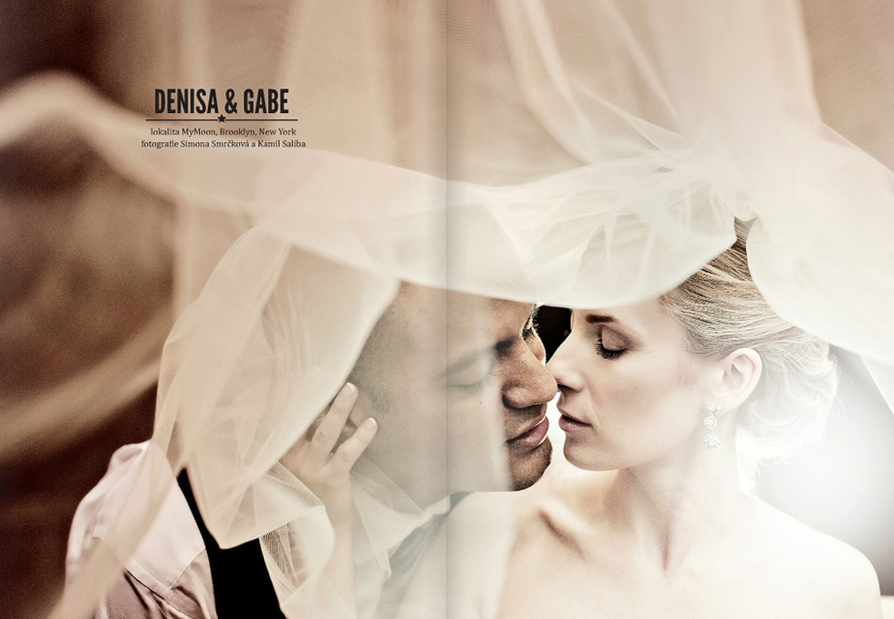 REAL WEDDING IN NEW YORK /  YOU AND ME MAG