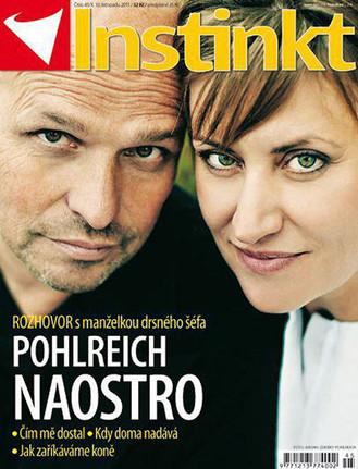 COVER FOR MAGAZINE INSTINKT