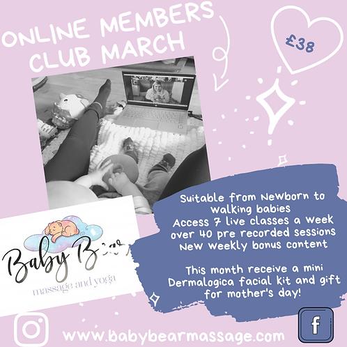 March online members club