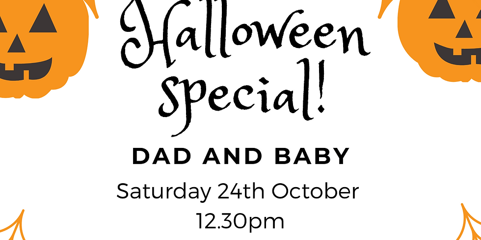 Halloween Special Dad and baby