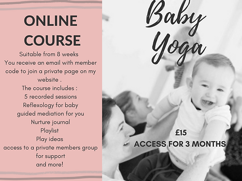 Baby yoga Online Course