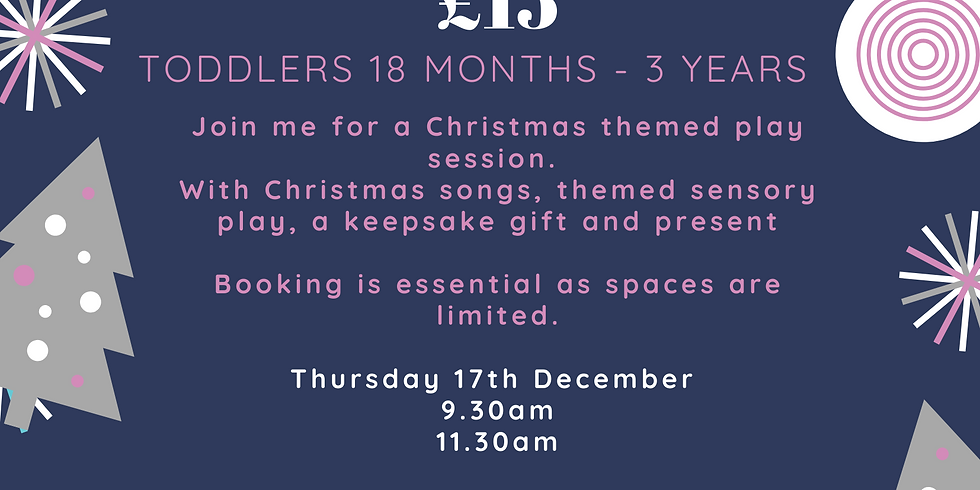 Christmas Special Toddlers Friday