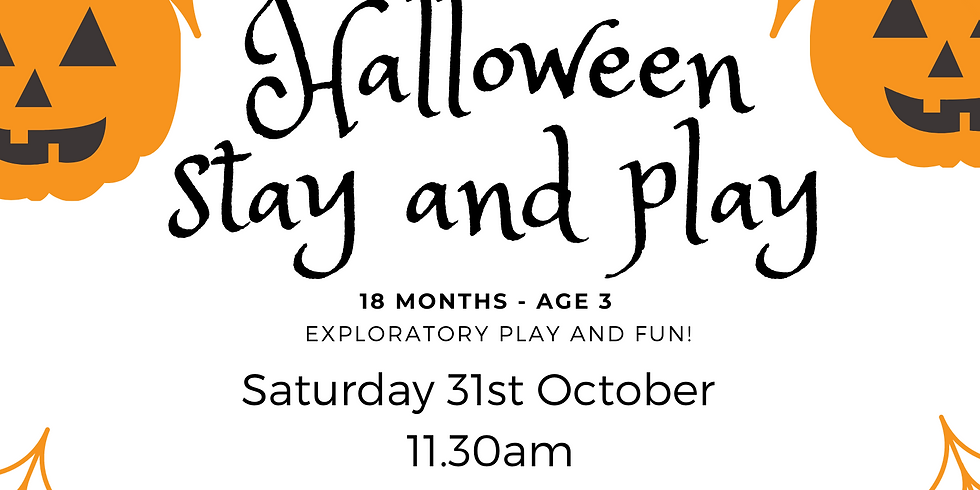 Halloween Stay and play