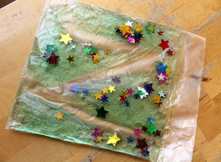 Sensory bags for babies, toddlers and beyond