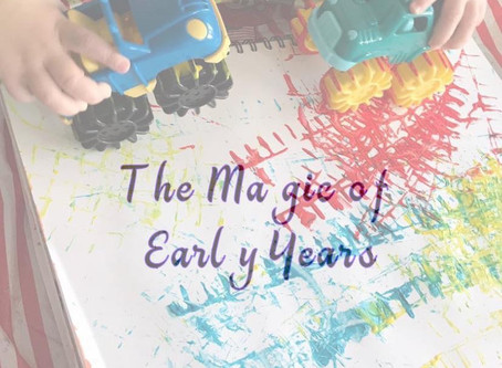 Play ideas - The magic of Early years Guest post