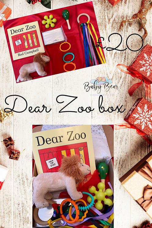 Dear zoo sensory gift box