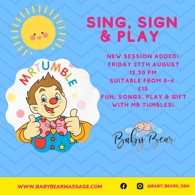 Mr Tumbles sing, sign & play