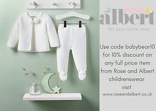 Use code babybear10 for 10% discount on
