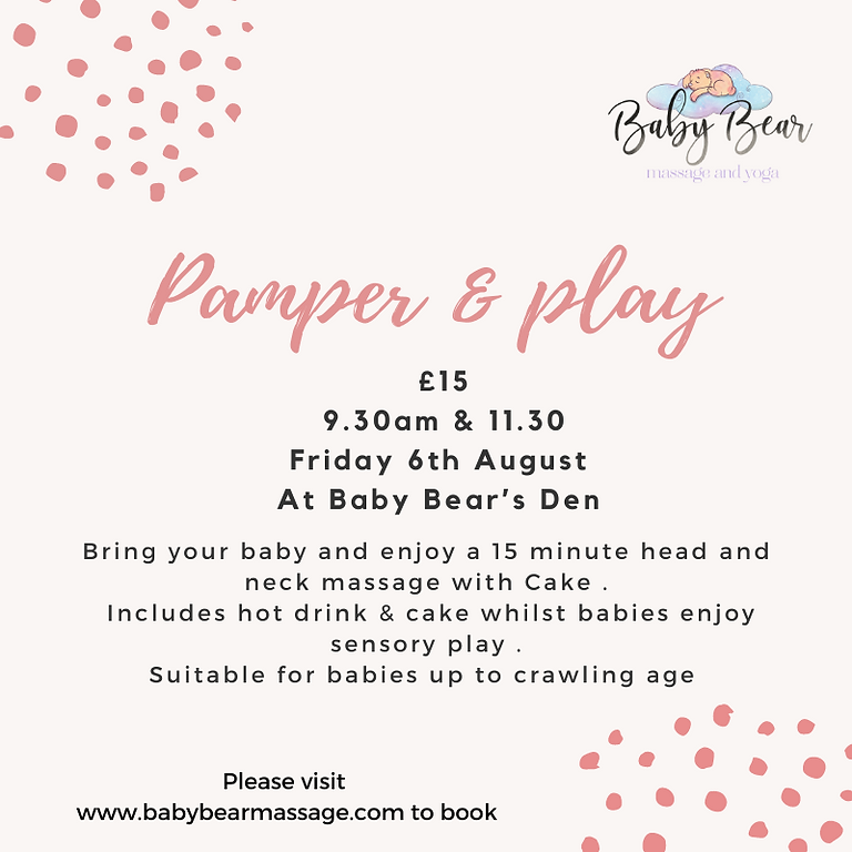 Pamper and play