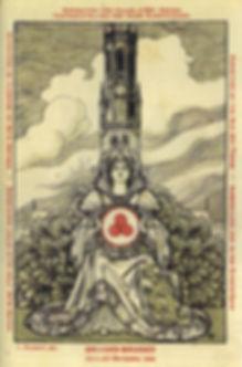 Почтовая открытка «Выставка исторических городов» Брюгге. Июль–октябрь 1932 г.