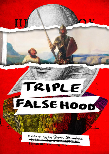"""Triple Falsehood"" - Poster"