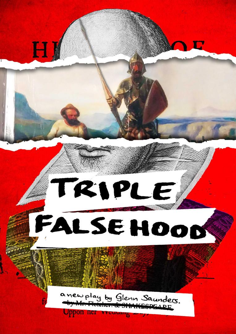 """""""Triple Falsehood"""" - Poster"""