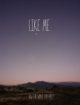 """""""Like Me."""" 2013. Unproduced film project"""