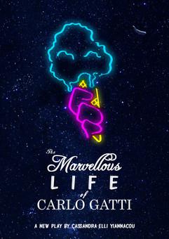 """The Marvellous Life of Carlo Gatti"" 2018. Play in development (Alternative poster)"