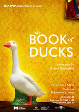 BOOK OF DUCKS production poster