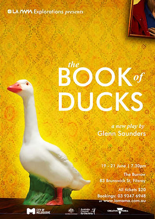 BOOK OF DUCKS poster.