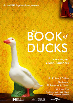 """""""The Book of Ducks"""" - Final Poster"""