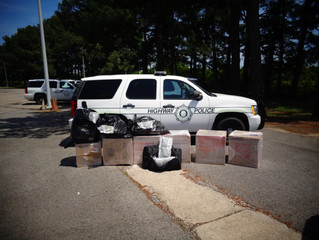 Arkansas Highway Police Seize 200 Pounds of Cannabis in Third Drug Bust