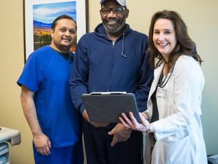 Patient Benefits From New Heart Technology