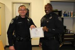 JACKSON PD OFFICERS RECOGNIZED