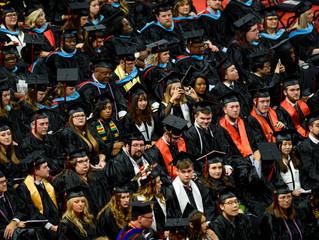 Chancellor Damphousse Confers Record Diplomas at Fall Graduation