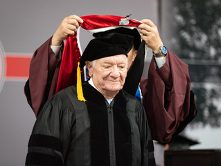 Record Degrees, Milestone Alumnus and Honorary Doctorate Highlight Spring 2018 Commencement at Arkan