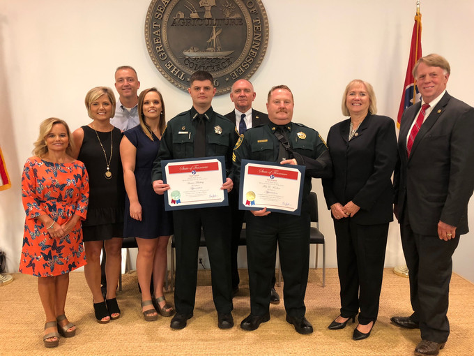 Madison County Sheriff's Office Deputies Honored