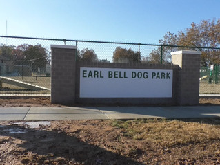 Earl Bell Dog Park ready to open